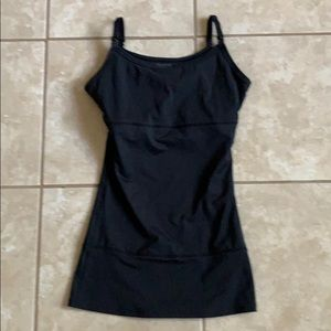 YUMMY TUMMIE BLACK NURSING TANK SMALL